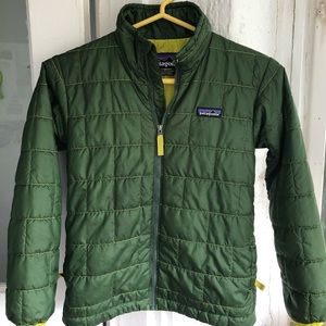 Patagonia Green Nano Puff Jacket